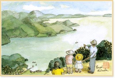 松岡健平先生の絵画